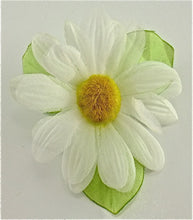 "Load image into Gallery viewer, Flower Daisy White Cloth 3"" x 5"""
