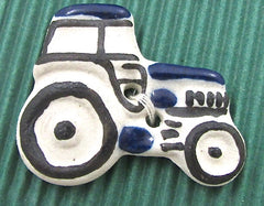 Buttons with Farm Animals and Tractor