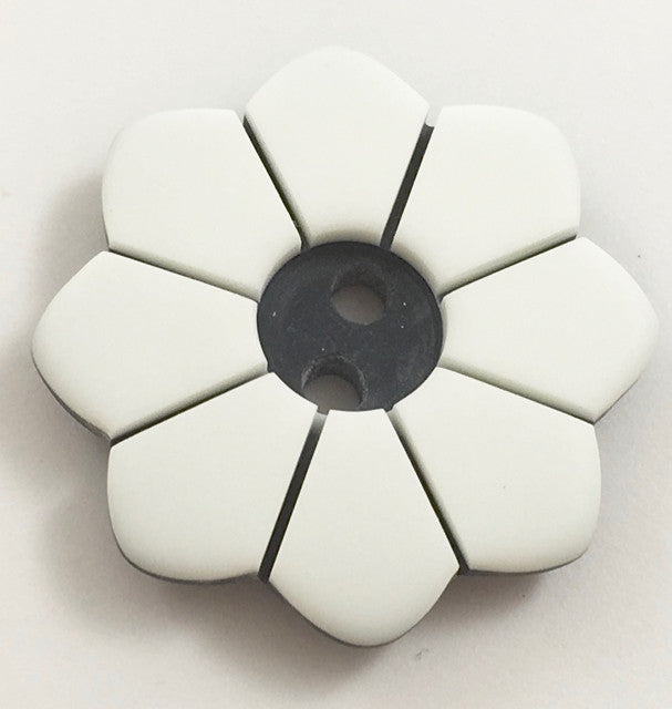 Button with White and Black Colors