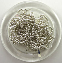 Load image into Gallery viewer, Beads Loose Silver 1.5 oz 1/6th inch