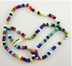 Beads MultiColored Southwestern Theme Two Sizes