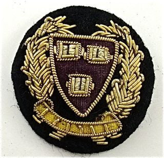 Bullion Black and Gold Patch 1.5""