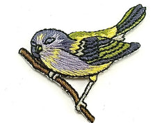 "Load image into Gallery viewer, Bird Embridered Iron-on 2"" x 1.5"""