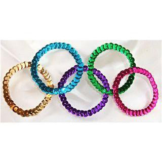 "OLYMPIC RINGS MADE WITH SEQUINS 5.25"" x 2"""