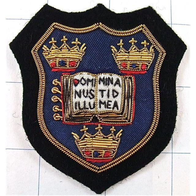 "Patch Bullion Oxford University Coat of Arms 3"" x 3"""