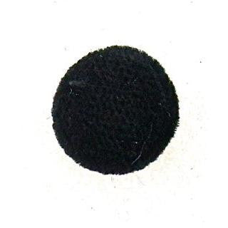 Button Black Velvet 5/8""
