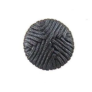 Button Black with pattern 1/2""