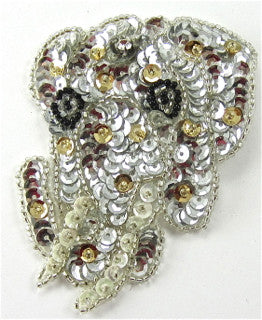 "Elephant Sequin Applique 3.5"" X 2.5"""