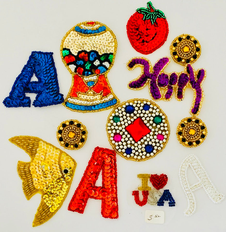 Assorted Miscellaneous Appliques