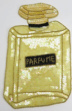 "Load image into Gallery viewer, Perfume with Yellow Sequins and Beads 11"" X 7"""