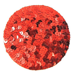 "Circle Dot with Three Color Choices Sequins 4"" Round"