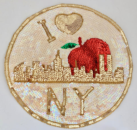 NY Skyline with Apple 11""