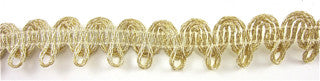Gold Bullion Trim by the Yard 1""