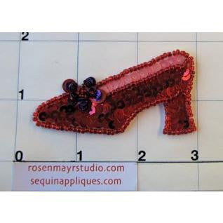 "Shoe Red 1.5"" x 3"""