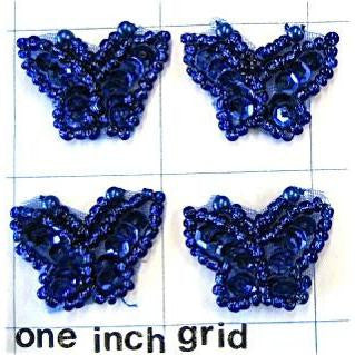 "Butterfly Set of Five  1"" x 1"""