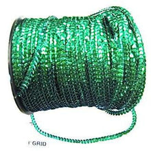 Load image into Gallery viewer, Trim 3 Yards Each Green Sequins 1/8""