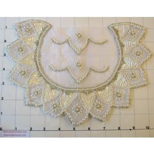 Motif Bridal Embellishments with Pearl Beading