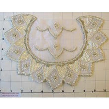 Load image into Gallery viewer, Motif Bridal Embellishments with Pearl Beading