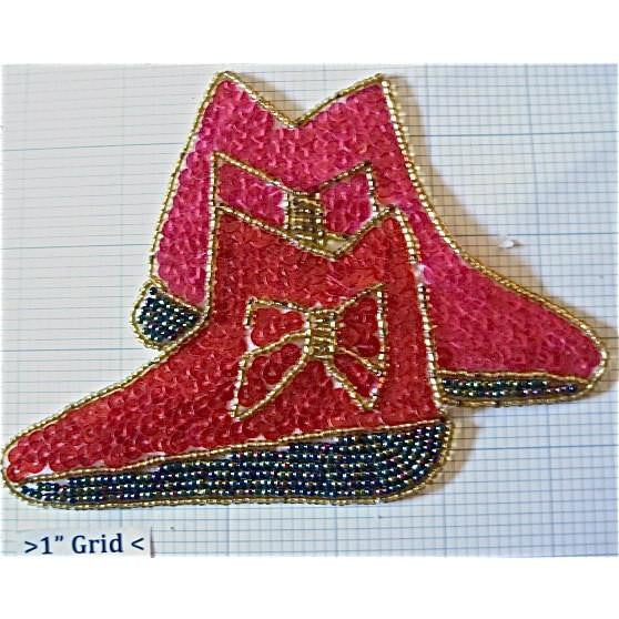 "Shoes With Bow, 4"" x 5.5"""