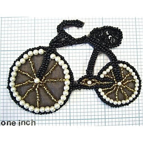 "Bicycle All Beaded 4"" x 3"""