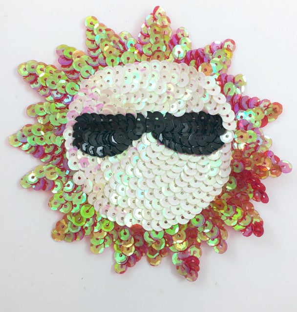 "Sun with Glasses 5"" x 5"""