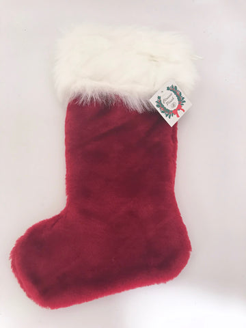 "Stocking Stuffer Stockings Two Sizes 12""x 9"" and  7"" x 4.5"""