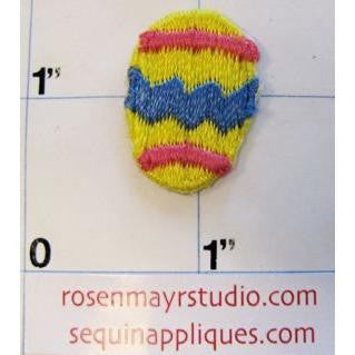 Small Embroidered Easter Egg