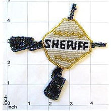 "Load image into Gallery viewer, Sheriff Emblem  5"" x 5"""