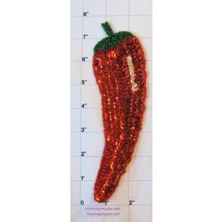 "Chili Pepper 8"" x 2.5"""