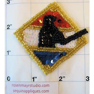 "Baseball Badge 3"" x 3"" - Sequinappliques.com"