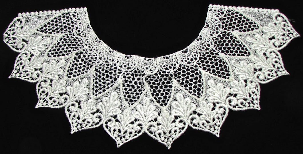Designer motif neck line all embroidered 13