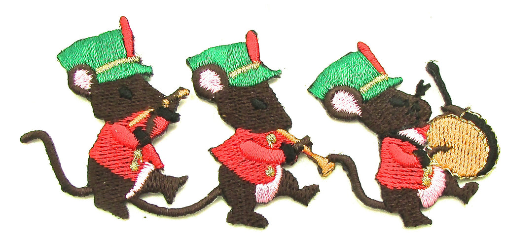 "Mice Three Marching Band  1.5"" x 4"""