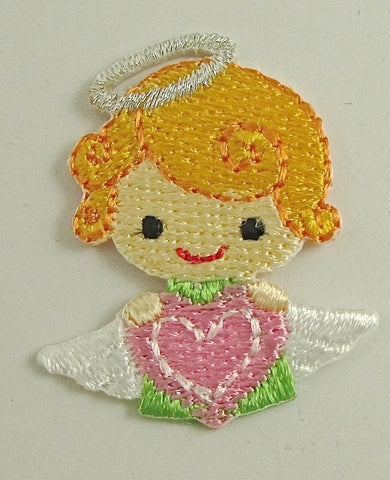 Angel Sweetest we could find Iron-On Embroidered