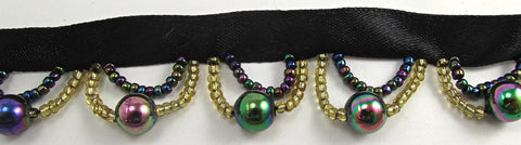 Trim with Multi-Colored Beads Remnant