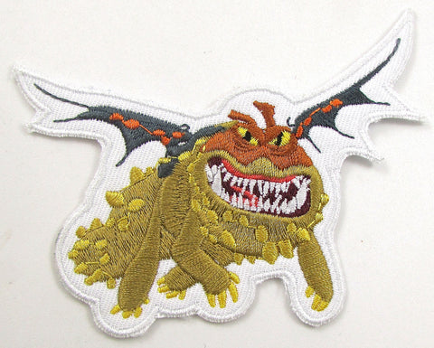 Dragon Embroidered Iron-on Patches Six Listed All under 4""