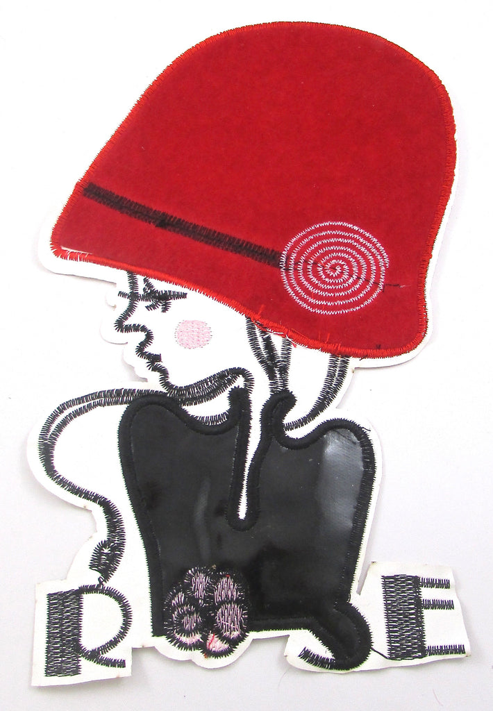 "Lady with Red Hat 10"" x 5.5"""