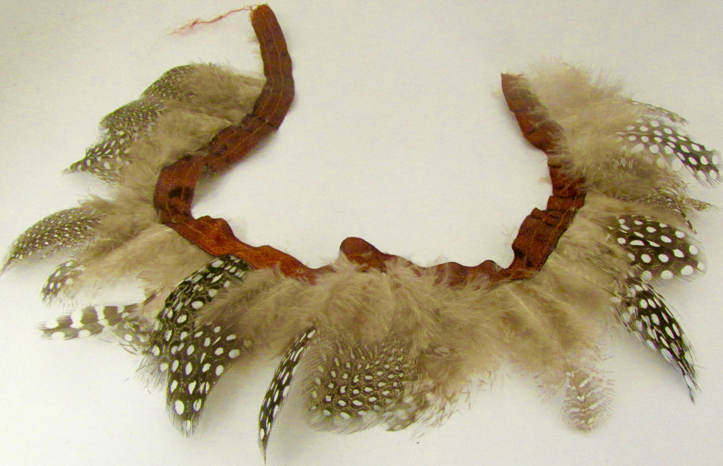 Trim with Real Feathers 3""