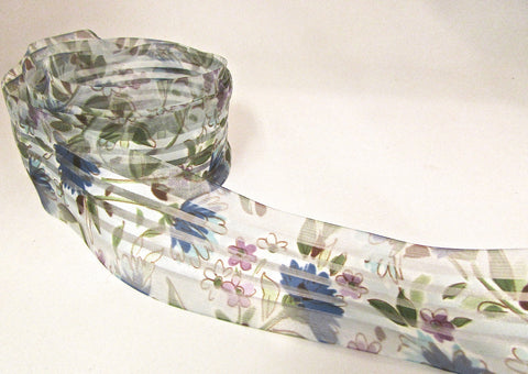 "Trim with Flower Strips 56"" Remnant 1.5"" Wide"