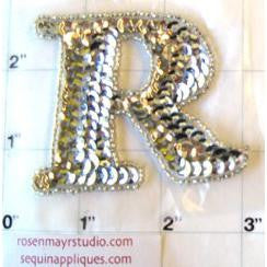 "R "" Silver Letter"