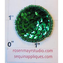 Load image into Gallery viewer, Dot Green Sequins 1.5