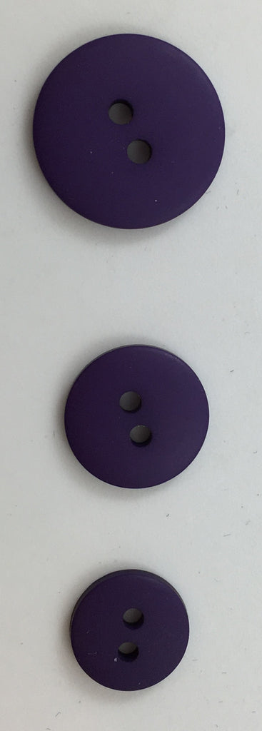 Buttons three Sizes Lite Lavender Orchid and Purple