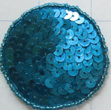 Load image into Gallery viewer, 6 PACK Circle Dot Turquoise Sequins and Beads Various Sizes -10 pack-