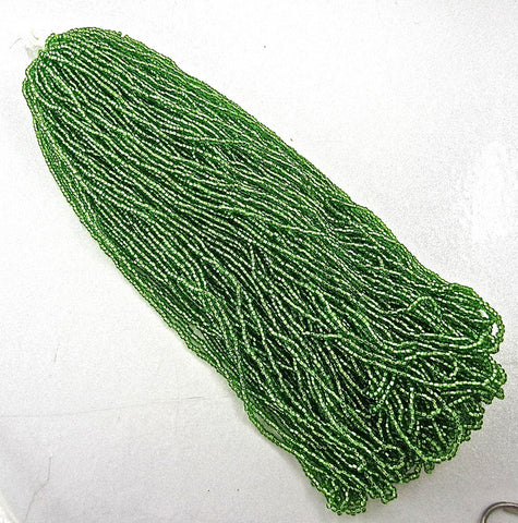 Beads TOHO 1LB. 2oz Hanks Green Seed Beads