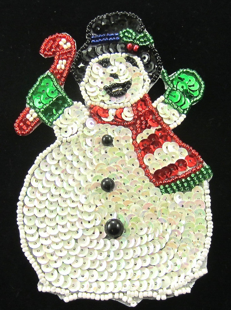 Snowman with Candy Cane 5