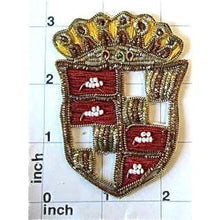 "Load image into Gallery viewer, Bullion Patch with black and Red  3"" X 2.5"""
