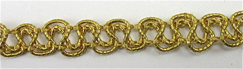 "Trim with Gold Bullion Loops 1/4"" Wide"