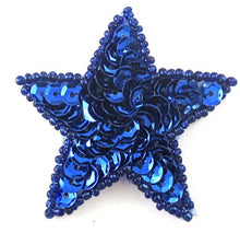 Load image into Gallery viewer, Star Royal Blue 2""