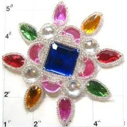 Designer Motif Jewels 4.5""