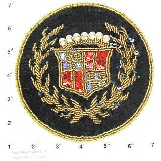 Cadillac patch Small 6""