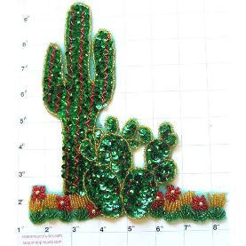 "Cactus with Small Ones 10"" x 8"""